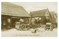 MERS 11 Ye Old Wheelwrights shop