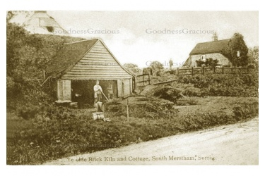 MERS 31 Brick kiln South Merstham 1908