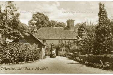 TIL 01 TILBURSTOW Fox and Hounds 1908